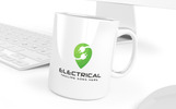 Electrical Point Power Logo Template