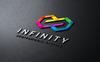 Szablon Logo Infinity #74085 Duży zrzut ekranu
