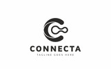 Connecta C Letter Logo Template
