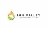 """Logo Vorlage namens """"Sun Valley"""""""