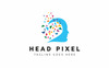 Szablon Logo Mind Pixel #76660 Duży zrzut ekranu