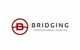Szablon Logo Bridging B Letter #76998