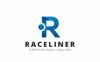 """""""Raceliner R Letter"""" modèle logo  Grande capture d'écran"""