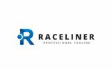 """""""Raceliner R Letter"""" modèle logo"""