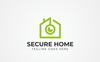 """Secure Home"" Logo template Groot  Screenshot"