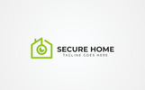"""""""Secure Home"""" Logo template"""