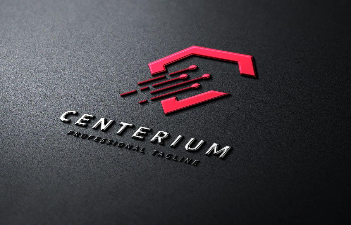 centerium c letter logo template  79500