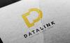 Szablon Logo Datalink D Letter #80035 Duży zrzut ekranu