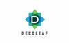 """""""Decoleaf D Letter"""" modèle logo  Grande capture d'écran"""