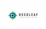 """""""Decoleaf D Letter"""" modèle logo"""