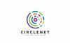 """""""Circlenet"""" modèle logo  Grande capture d'écran"""