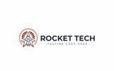 Rocket Tech Logo Template