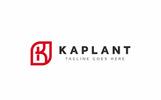 "Logo Vorlage namens ""Kaplant K Letter"""
