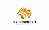 Construction Logó sablon