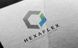 Hexagon Arrows Template de Logotipo №81714