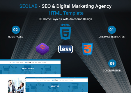 SEOLAB -  SEO & Digital Marketing Agency HTML