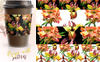 Couroupita Guianensis PNG Watercolor Set Illustration Big Screenshot