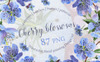 Cherry Blossoms - PNG watercolor Bundle Big Screenshot