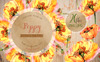 Cool Yellow Poppies PNG Watercolor Set Bundle Big Screenshot