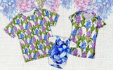 Colorful Hyacinth PNG Watercolor Bundle