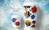 Sea Fishes PNG Watercolor Set Illustration Big Screenshot