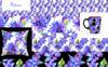 Blue Gerbera PNG Watercolor Flower Set Illustration Big Screenshot