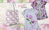 Meet Magnolia PNG Watercolor Flower Set Illustration