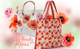 My Lovely Poppies - PNG Watercolor Açıklamalar