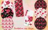 Aguilegia Cool Flower PNG Watercolor Set Illustration Big Screenshot