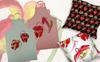 """""""Cool Red Sarracenia PNG Watercolor Set"""" illustration  Grande capture d'écran"""