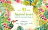 Tropical Beach PNG Watercolor Set Illustration Big Screenshot