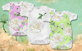 Delicate White Roses PNG Watercolor Set Açıklamalar