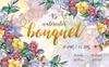 Watercolor Bouquet PNG Flower Set - Illustration Big Screenshot