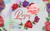 Roses Watercolor PNG Set Illustration Big Screenshot