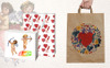 Valentines Day PNG Watercolor Set Illustration Big Screenshot