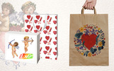 Valentines Day PNG Watercolor Set Illustration