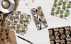 Leopard PNG Watercolor Set Illustration Nagy méretű képernyőkép