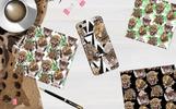Leopard PNG Watercolor Set Illustration