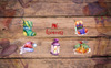 Amazing New Year's Collection PNG Watercolor Set Illustration Big Screenshot