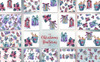Christmas Time PNG Watercolor Set Illustration Big Screenshot