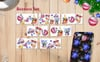 Christmas Balls Toy PNG Watercolor Set Illustration Big Screenshot