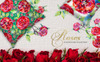 Rose Red Magic Watercolor Png Illustration En stor skärmdump