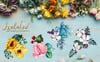 "Template Illustrazione #76510 ""Bouquets yellow Watercolor png"" Screenshot grande"