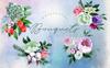 Bouquets Blue Watercolor Png Illustration Big Screenshot