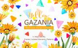 Yellow Gazania Watercolor Png Illustration