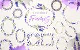"Иллюстрация ""Lavender Watercolor png"""