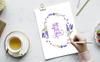 """Иллюстрация """"Lavender Watercolor png"""" Большой скриншот"""