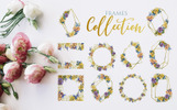 Bouquets Yellow Watercolor Png Illustration
