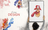"""Иллюстрация """"Friendly Lamas Watercolor Png"""" Большой скриншот"""