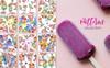 Ice Cream Fruit Watercolor Png Illustration Big Screenshot